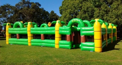 The Giant Inflatable Maze